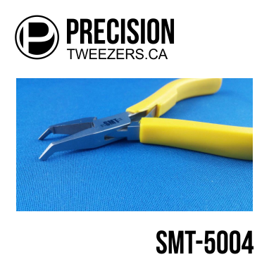 Precision Tweezers - Stainless Steel Tip Cutting Pliers - #SMT-5004